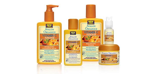 Avalon Organics Vitamin C Skincare Line www.avalonorganics.com