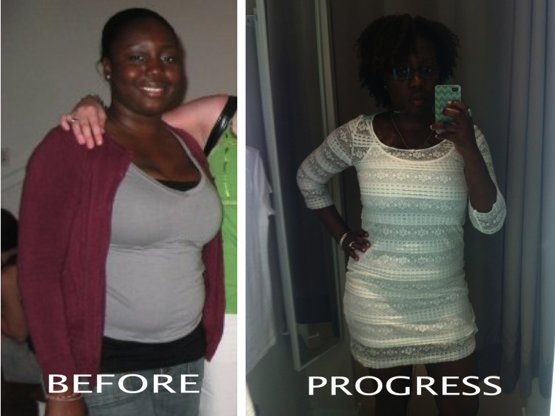 Before & Progress