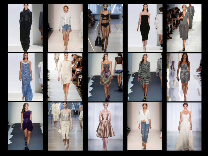 2014 NYC Fashion Week Compliation