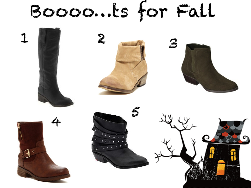 Boots for the Fall