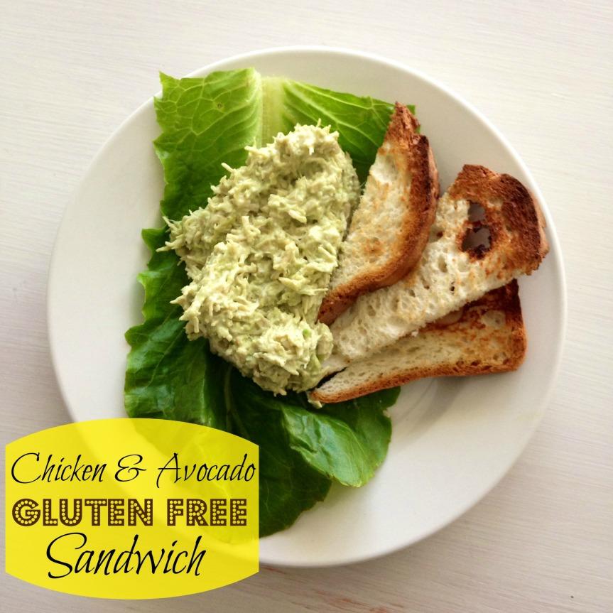 GF Chicken Avocado Sandwich