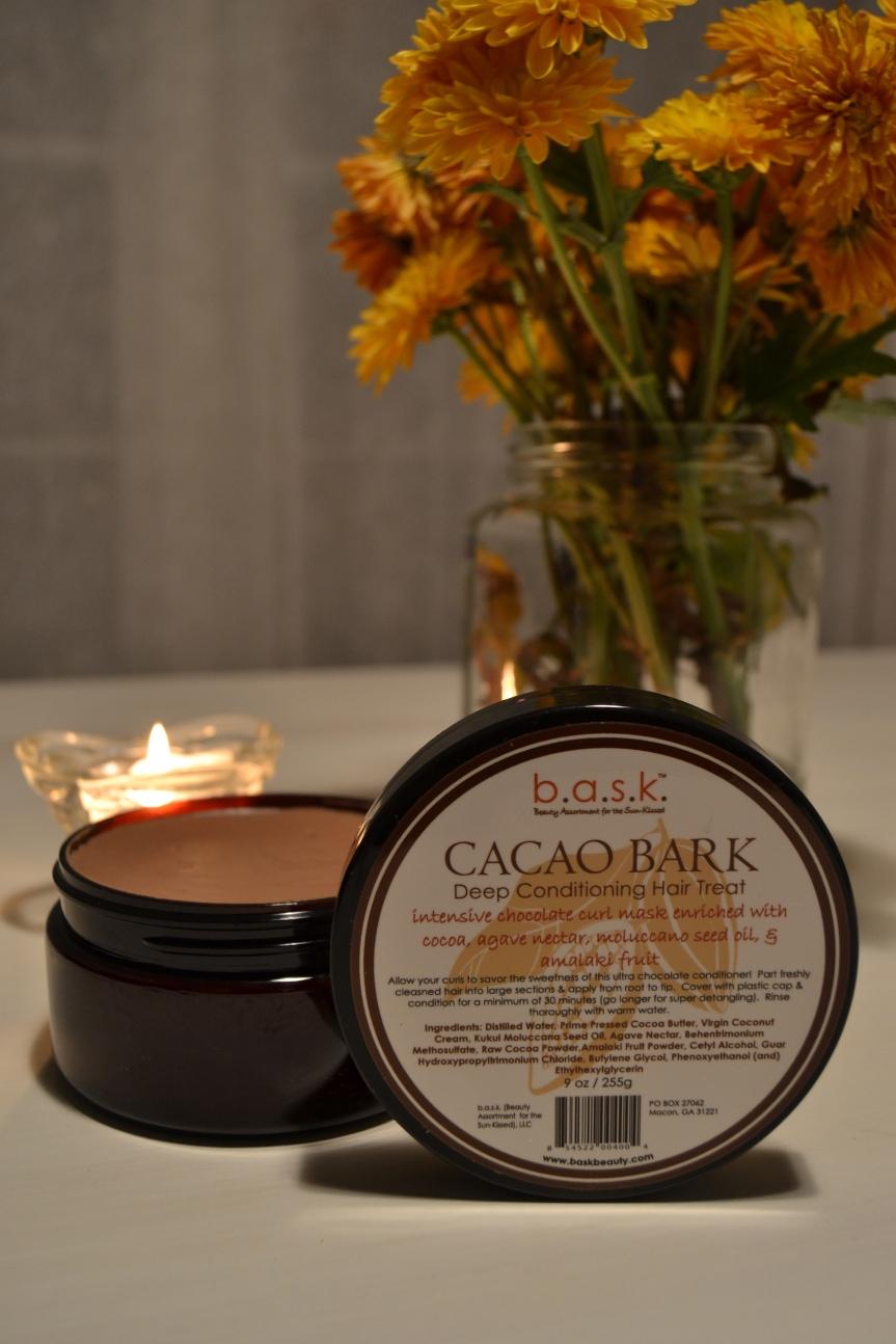 B.A.S.K. Cacao Bark Deep Conditioning Hair Treat